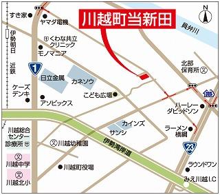 川越町地図